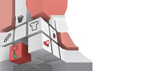 Porte-clés Publicitaire Logo