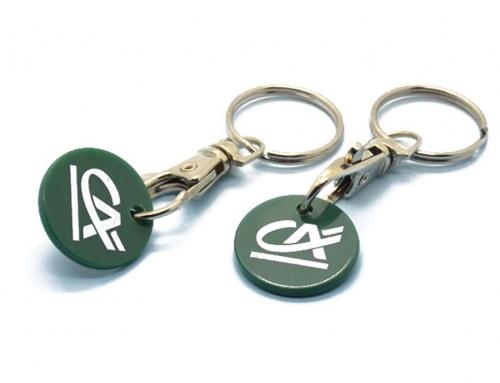 Porte-clés Jeton Plastique Caddie