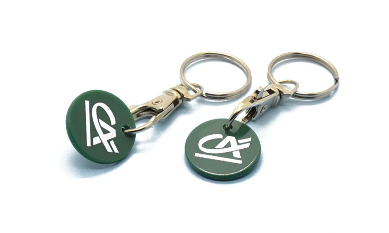 Porte-clés Jeton Plastique