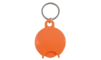 Porte-Clés Publicitaire CADDIE DESIGN ROND Orange