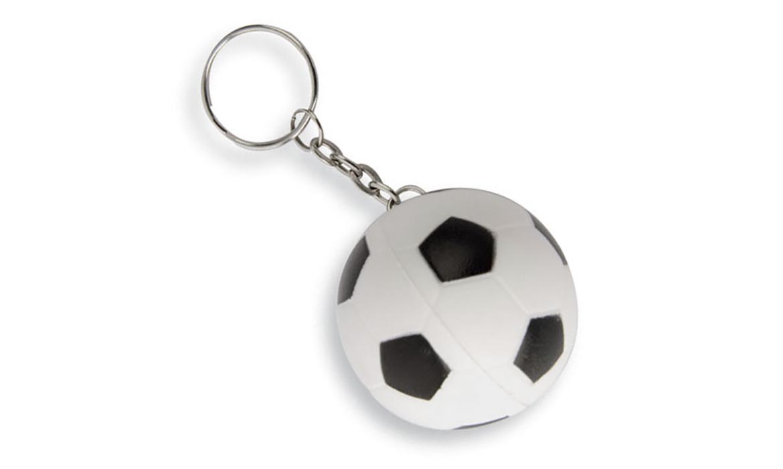 Porte Clés Antistress Ballon Foot Soccers PU Publicitaire