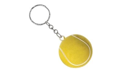 Porte Clés Antistress Balle Tennis PU