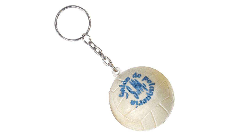 Porte Clés Antistress Ballon VOLLEY PU Publicitaire