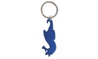 Porte-clés Aluminium Publicitaire Hippocampe Bleu