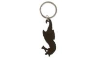 Porte-clés Aluminium Publicitaire Hippocampe Noir