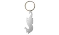 Porte-clés Aluminium Publicitaire Hippocampe Silver