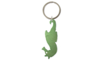 Porte-clés Aluminium Publicitaire Hippocampe Vert