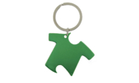 Porte-Clés Publicitaire Aluminium Tee-Shirt Vert