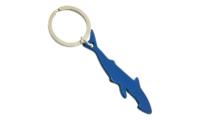 Porte-Clés Publicitaire Aluminium Requin Bleu