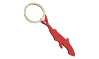 Porte-Clés Publicitaire Aluminium Requin Rouge