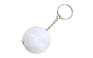 Porte-clés Publicitaire Plastique mètre Balle de Golf mètre ruban