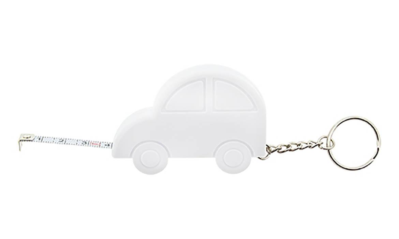 Porte-clés Publicitaire Plastique mètre ruban Voiture