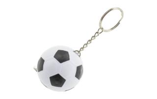 Porte-clés Publicitaire Plastique mètre Ruban Ballon de football soccer