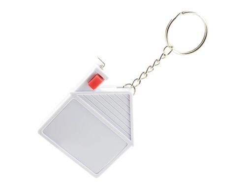 Porte-clés Publicitaire Plastique Mètre Ruban Maison