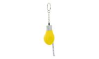 Porte-clés Publicitaire Plastique Mètre Ruban Ampoule Electrique