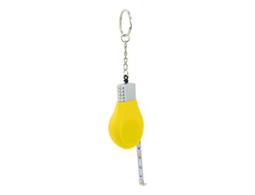 Porte-clés Publicitaire Plastique Mètre Ruban Ampoule