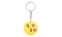 Porte Clés Publicitaire Smiley - Kiss Love