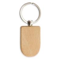 Porte-clés en Bois oblong