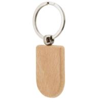Porte-clefs en Bois oblong